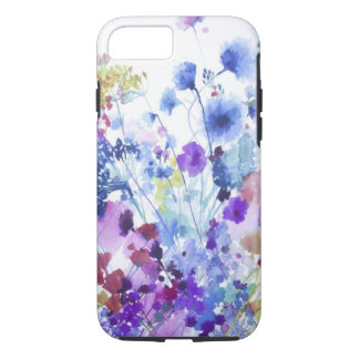 Watercolor Flowers iPhone iPhone 8/7 Case