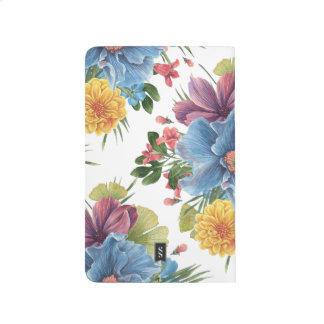 Watercolor flowers journal