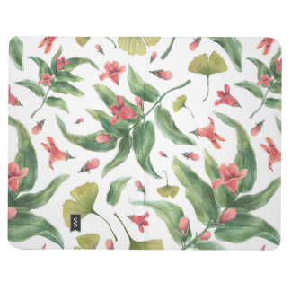 Watercolor flowers journals