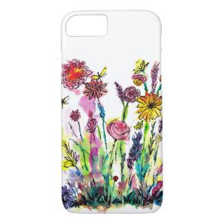 Watercolor Flowers Phone Case