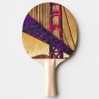 Watercolor flowers Ping Pong Paddle