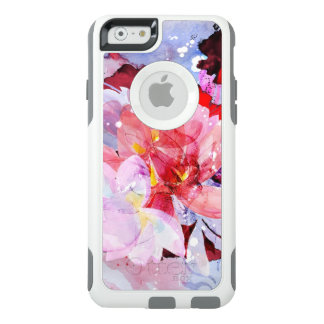 Watercolor flowers pink garden illustration OtterBox iPhone 6/6s case