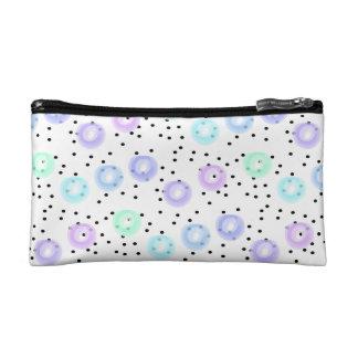 Watercolor Funfetti - Winter Frost Cosmetic Bag