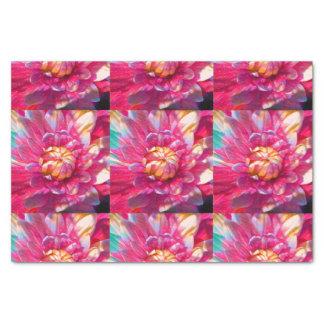 Watercolor Garden Flower Tissue Paper