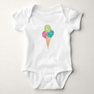 Watercolor gelato baby onsie baby bodysuit