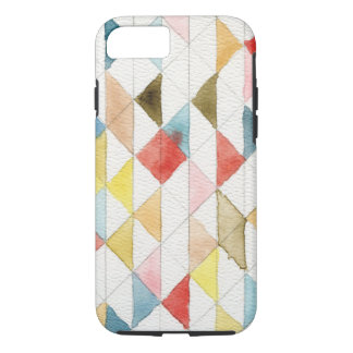 Watercolor Geometric Tribal Triangles iPhone 7 Cas iPhone 7 Case
