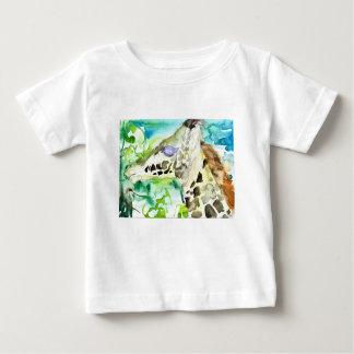 watercolor GIRAFFE .1 Baby T-Shirt