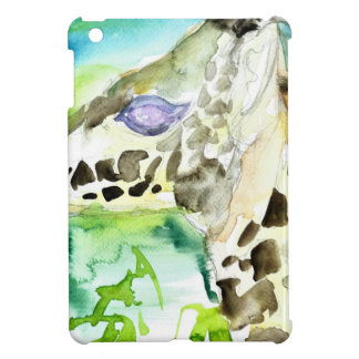 watercolor GIRAFFE .1 iPad Mini Case