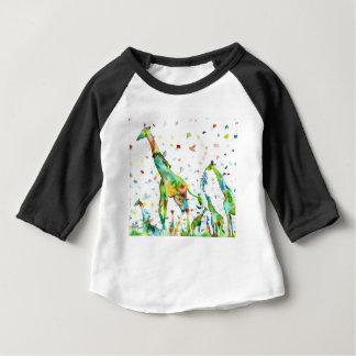 watercolor GIRAFFE .2 Baby T-Shirt