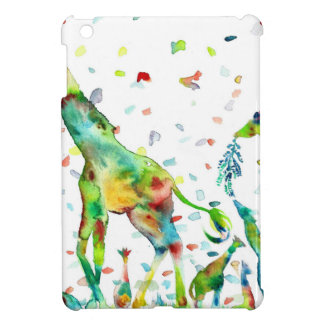 watercolor GIRAFFE .2 Cover For The iPad Mini