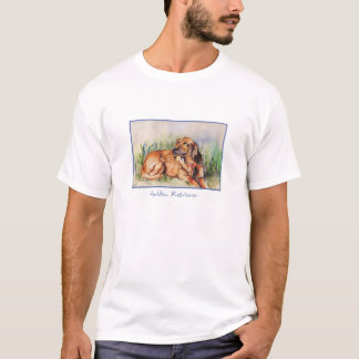 Watercolor Golden Retriever T-shirt