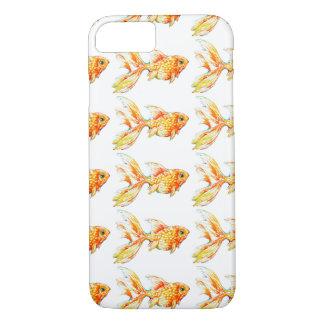 Watercolor Goldfish Artesian Phone Case