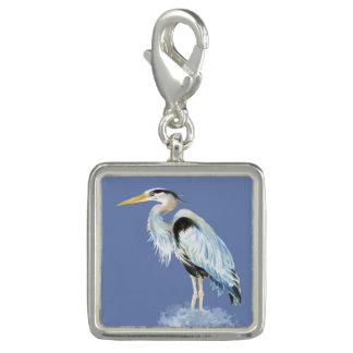 Watercolor Great Blue Heron Bird