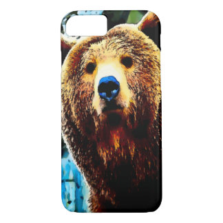 Watercolor Grizzly Bear iPhone 7 Case
