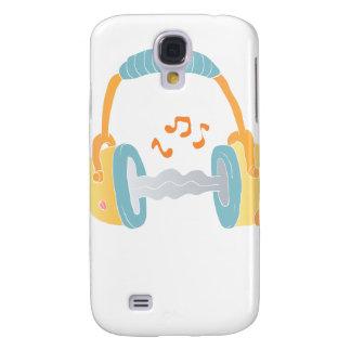 watercolor headphone. samsung galaxy s4 case