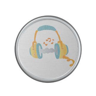 watercolor headphone. speaker