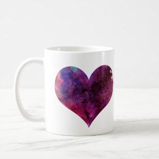 Watercolor Heart Mug