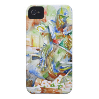 watercolor HORSE .4 iPhone 4 Case