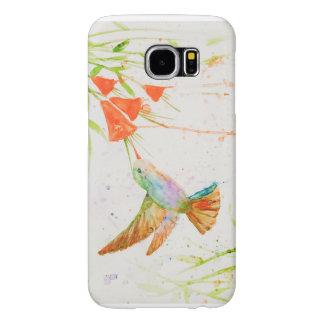 Watercolor Hummingbird Samsung Galaxy S6 Cases