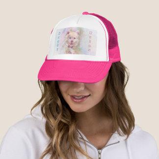 Watercolor Husky Dog Trucker Hat