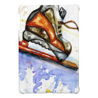 Watercolor Ice Skate iPad Mini Covers