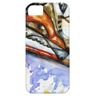 Watercolor Ice Skate iPhone 5 Cover