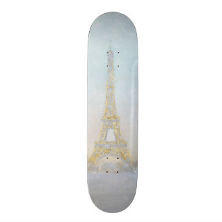 Watercolor | Image of Eiffel Towe 19.7 Cm Skateboard Deck