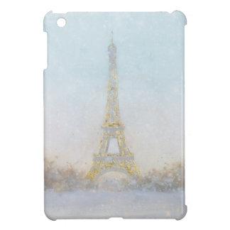 Watercolor   Image of Eiffel Towe iPad Mini Cover