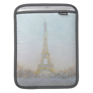 Watercolor | Image of Eiffel Towe iPad Sleeve