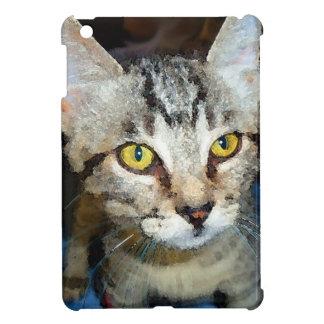 Watercolor Kitten iPad Mini Cover