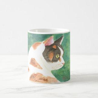 Watercolor Kitty Mug