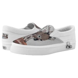 Watercolor Koala Shoes Printed Shoes