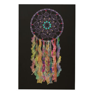 Watercolor Lace | Dream Catcher | You Customise Wood Canvases
