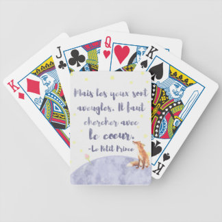 Watercolor Le Petit Prince The Little Prince Poker Deck