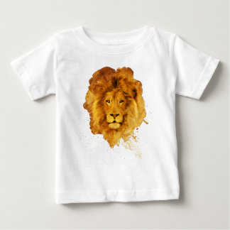 Watercolor Lion Baby T-Shirt