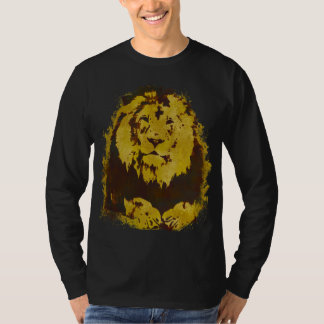Watercolor Lion Tee Shirts
