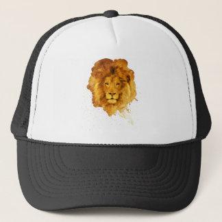 Watercolor Lion Trucker Hat