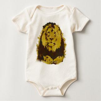 Watercolor Lion Creeper
