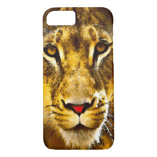 Watercolor Lioness Picture iPhone 7 Case