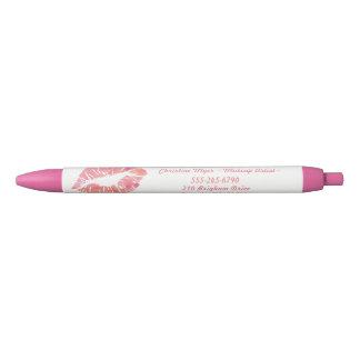 Watercolor Lips Makeup Artist Personalized Pen