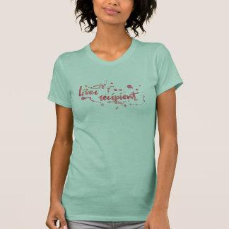 Watercolor Liver Recipient T-Shirt