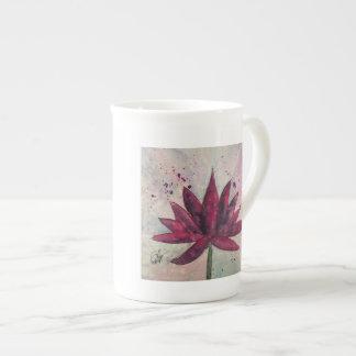 Watercolor Lotus Mug