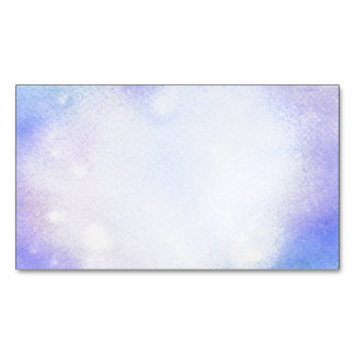 Watercolor Magnetic Business Card Magnetic Business Cards