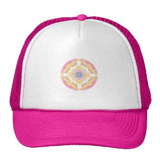 Watercolor Mandala Hat Gorro De Camionero