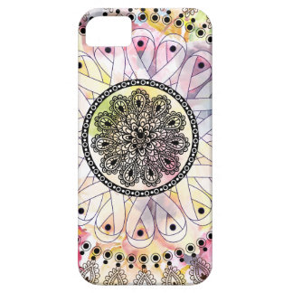 Watercolor Mandala iPhone 5 Case