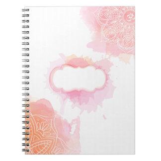 Watercolor Mandala Notebook