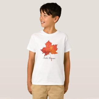 Watercolor Maple Leaf T-Shirt
