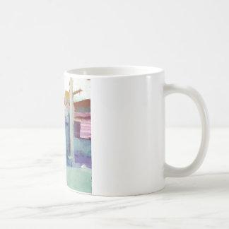 Watercolor Classic White Coffee Mug