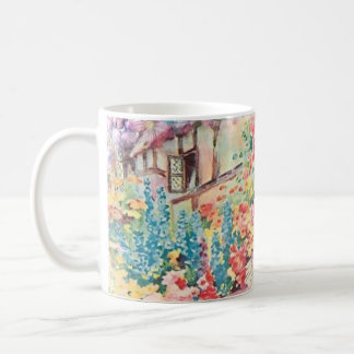 Watercolor Mug Vintage French Country Garden Party