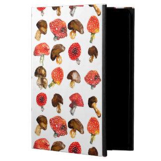 Watercolor mushrooms Cute fall pattern iPad Air Case